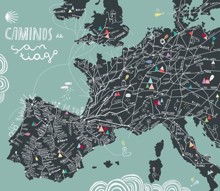 Come All the Way! Caminos Santiago (2011), courtesy Cinta Arribas/Phaidon