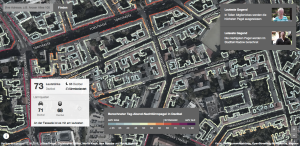 Berlin noise map by Berliner Morgenpost (Screenshot)