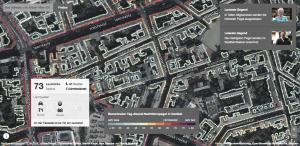 Berlin noise map by Berliner Morgenpost (Screenshot)