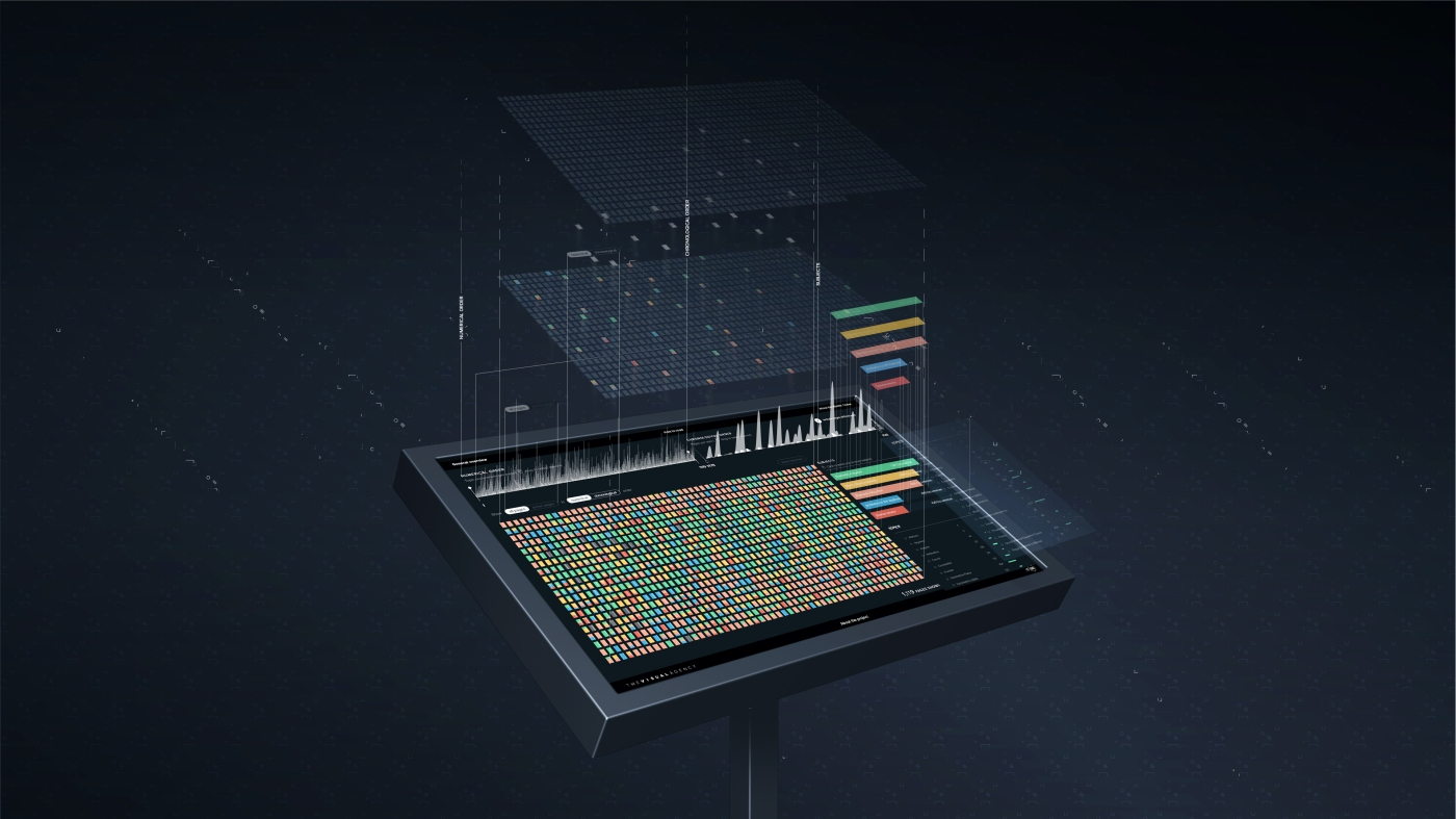 Concept image of the interactive installation